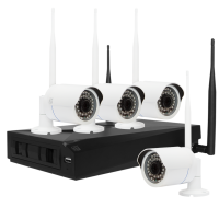 Комплект ST-400-WF IP видеонаблюдения (со съемной антенной)